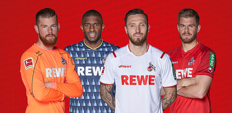 uhlsport 1 FC K/öln Ausweichtrikot 3rd Trikot 20//21