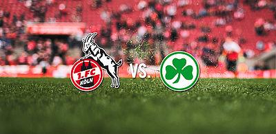 Kết quả hình ảnh cho Cologne vs Greuther Furth