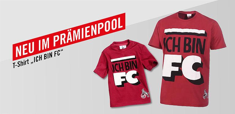 1 Fc Köln Ich Bin Fc Shirt In Rot
