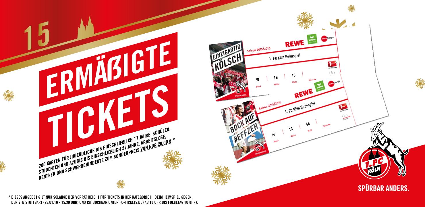 1 Fc Köln Ermäßigte Tickets Für Studenten